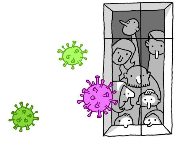 A szenvedélybetegség és a koronavírus járvány